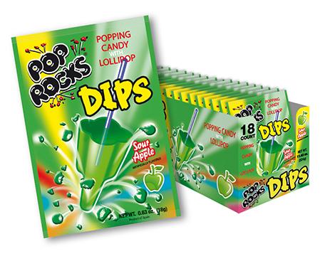 Pop Rocks Apple Dips Flavor