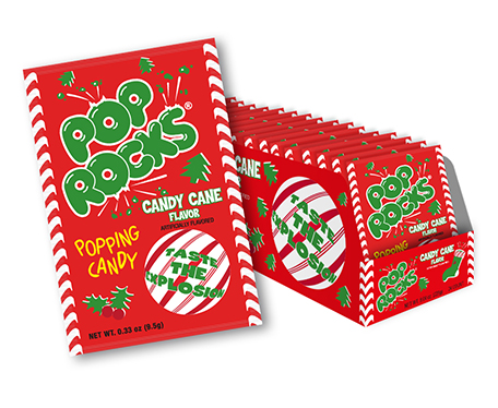 Pop Rocks Candy Cane Flavor