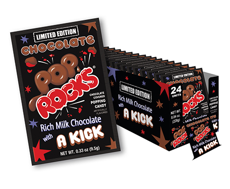 Pop Rocks Chocolate Flavor