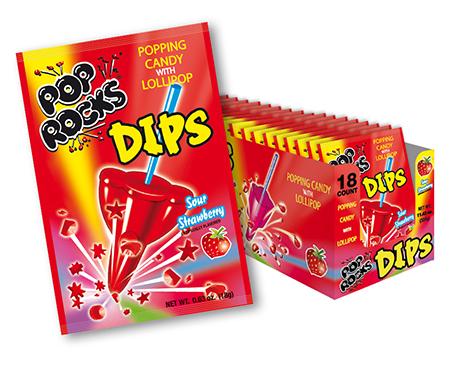 Pop Rocks Strawberry Dips Flavor