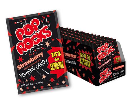 Pop Rocks Strawberry Flavor