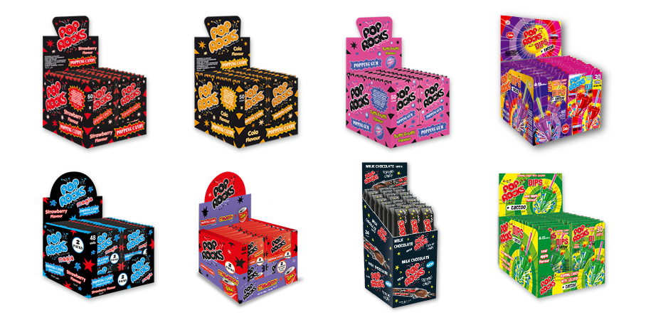 Pop Rocks Range in UK