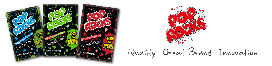 Pop Rocks Great Brand