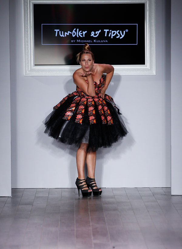 Pop Roks inspires new design of Michael kuluva in new York fashion week
