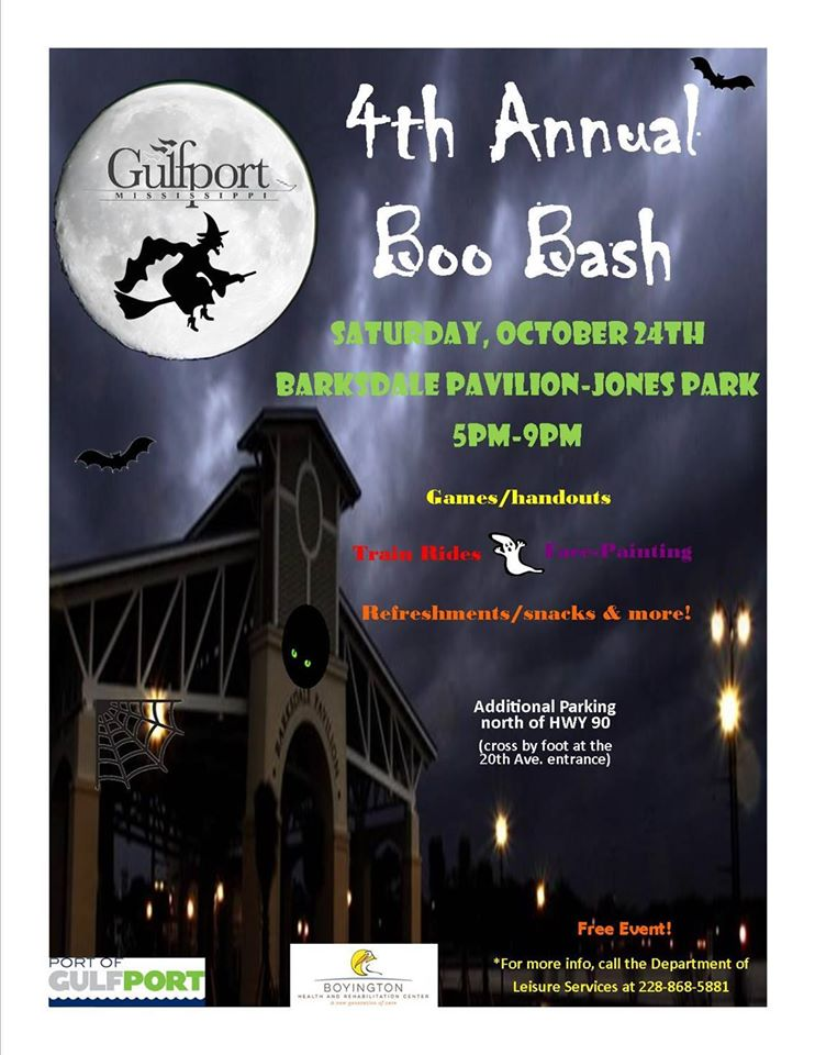 Pop Rocks participated in last Halloween Carnival Boo Bash in Gufport