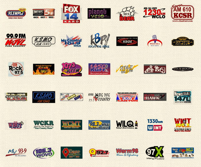 Stations Tv and Radio features
