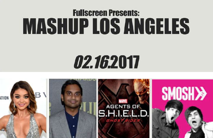 Sara Hyland, Aziz Ansarí, Ann Foley, Smosh will attend Mashup –los Angeles