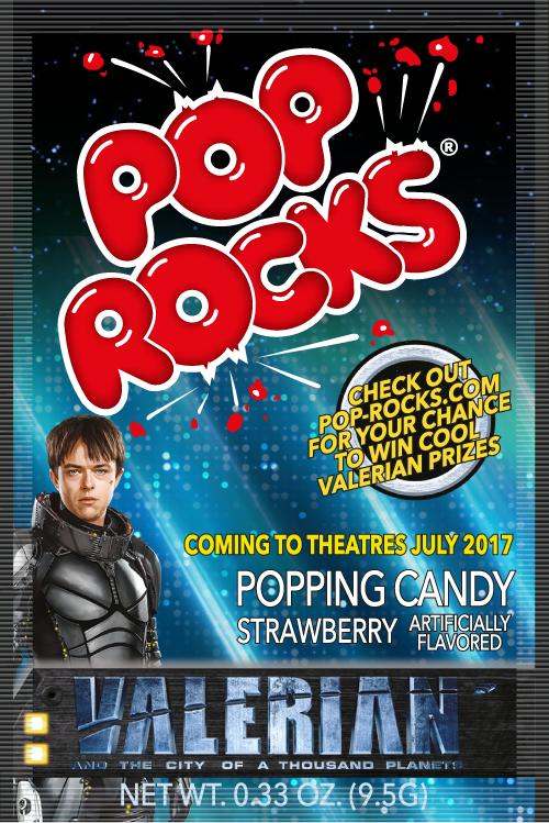 Pop Rocks Valerian unit