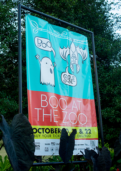 Boo at the zoo event, sponsored by Pop Rocks