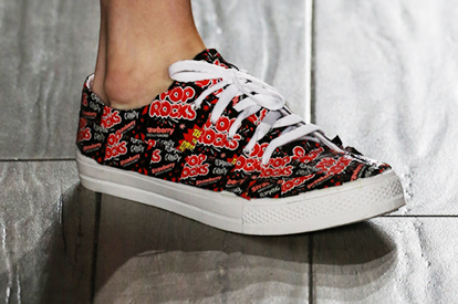 NYFW 2015 Tumbler & Tipsy Pop Rocks sneakers