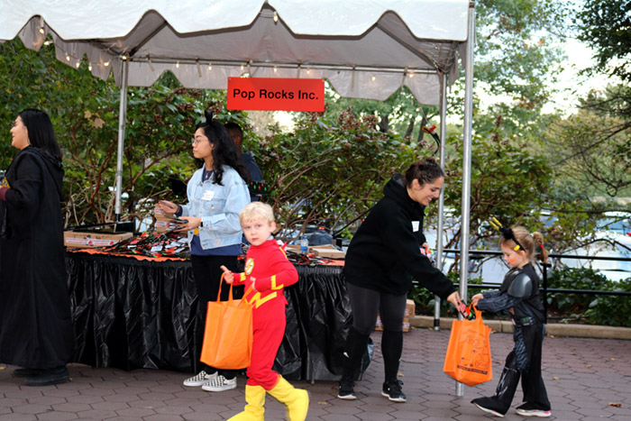 Pop Rocks Treat Station Boo at the Zoo 2018