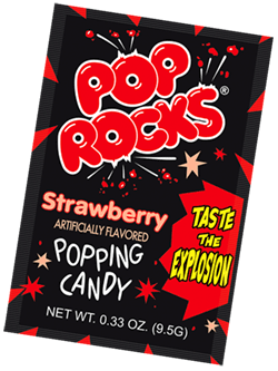 Pop Rocks Strawberry Unit