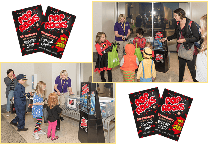 Pop Rocks cooperates in Halloween night at liberty science center